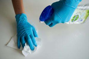 limpieza y desinfección - coronavirus